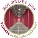 Bergrumsgaraget - vinnare av ROT-priset 2016