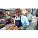 Sea Bream differently with Google Glass - Celebrity Chef [VIDEO]