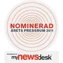 Sweden Hotels nominerade till Årets Pressrum 2011