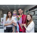 Young Eye Cancer Survivor is Guest of Honour at Opening of New Vision Express in Bayswater
