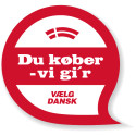 Vælg dansk logo