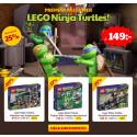 Premiär för LEGO Ninja Turtles på Lekmer.se