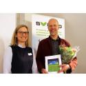 Göran Berndes, 2017 års mottagare av Jan Häckners bioenergipris
