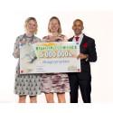 PostkodLotteriet investerar 5 miljoner kronor i att avskaffa hunger