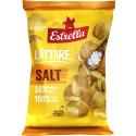 Lättare chips, Salt