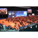 Kändistät öppningskväll i Friends Arena