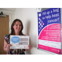 Make Cancer Research donations at Moorside Library