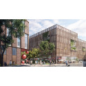 LINK arkitektur ritar Lidls nya huvudkontor och parkeringshus i Aarhus