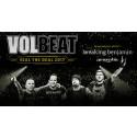Breaking Benjamin och Amorphis klara som support till Volbeat