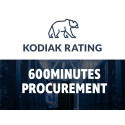 Kodiak Rating joins the festivities at 600 Minutes Procurement