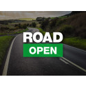 Northbound A30 has been re-opened.