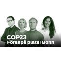 COP23: Vem tar täten? Fores bevakar