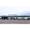 Ny check-in  i Trelleborgs Hamn