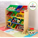 Kidkraft Primary Storage Bin Unit