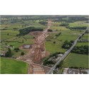 Work underway this weekend on new £192M A556 road
