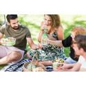 Sallad populäraste lunchen i sommar