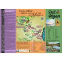 Folder med karta, service, upplevelser mm längs Fjällvägen