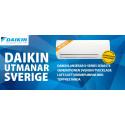 Daikin lanserar X-series luftvärmepumpar utvecklade i Sverige