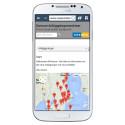 Startsidan på www.sweconkontakt.se på en smart mobiltelefon