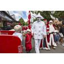 Jul och jultomtefest på Bakken i juli