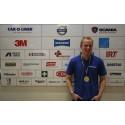 Adam Gereberg från Arnäsvall är Sveriges bästa unga lastbilstekniker