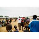 Röda Korset hjälper människor på flykt från Burundi