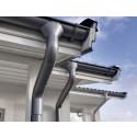 Fem grunner til å velge takrenner i stål
