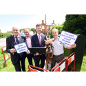 Jeremy Wright MP hails major milestone as roll-out of fibre broadband reaches more remote Warwickshire communities