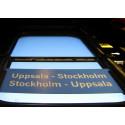 Revidering; Allt fler pendlar från Stockholm till Uppsala
