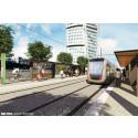 Varm och välkomnande - Designkoncept för spårvagnar och hållplatser