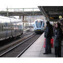 Nio av tio tåg går i tid