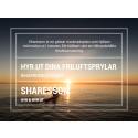 Hyr ut dina friluftsprylar - Sharesson