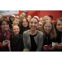 Skolbarn i Linköping möter sina barnrättshjältar