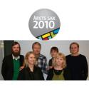 Moderådets VD och formgivaren Mattias Ståhlbom i juryn när DesignTorget utser Årets Sak 2010!