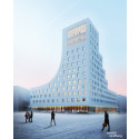 Klart med Scandic i Kirunas nya centrum – bygger Kirunas första skybar