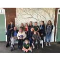 Community art blossoms at Southern Rail's Bosham station