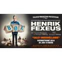 Efter 21 utsålda förställningar på Maximteatern i Stockholm åker Henrik Fexeus äntligen ut på Sverigeturné under våren 2016.