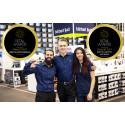 Dubbla finalplatser för Elgiganten i Retail Awards 2017