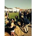 Barnen tog de första spadtagen i HSB Östergötlands projekt brf Hagen i Ullstämma