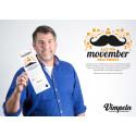 Vimpeln lyfter kampen mot prostatacancer - allt för Movember helt enkelt!