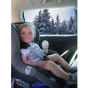 Rosor på kind och solsken i blick med Calix bilvärmesystem