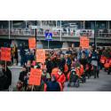 Barnvagnsmarschen Stockholm + Women's March = SANT
