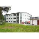 Ett av de sex husen som kommer att utgöra byggnationen i Åhusparken