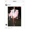 Rihanna i jacka från Textilhögskolans modestudent