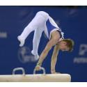 Christopher Soos 2017 års svenske mästare i manlig artistisk gymnastik