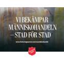 Umeå först ut när Frälsningsarmén visar  dokumentär om arbetet mot människohandel i Europa