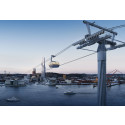 The City of Gothenburg has selected NCC for further planning of the Gothenburg Cable Car project