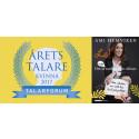 Året Talare debuterar som författare i höst