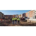 Nu bygger vi 57 hyreslägenheter i kv Kronborg, Malmö