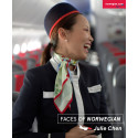 Faces of Norwegian: Julie Chen